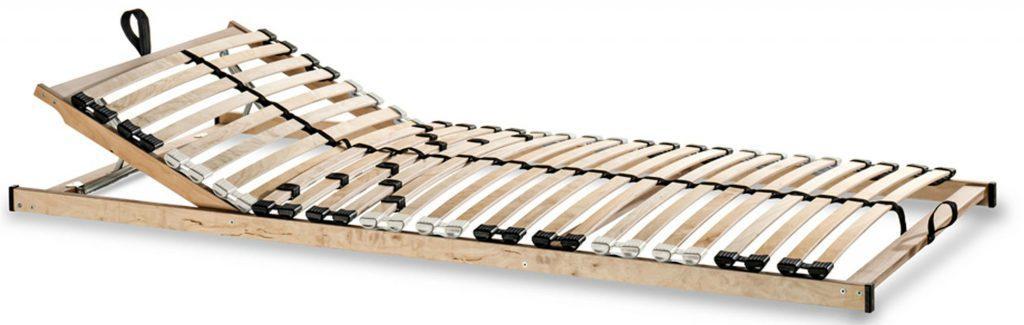 Lattenrost Betten-ABC Max KV zur Selbstmontage Kopfteil verstellbar,flexible Leisten, Komfort