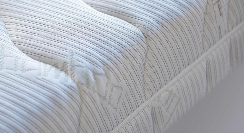 7-Zonen-Taschenfederkernmatratze OrthoMatra ABC Spring, mit waschbarem Bambus-Bezug
