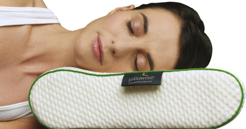 Pillowise Nackenstützkissen, Füllung mit 100% Memory Schaum, Tencel Bezug, waschbar