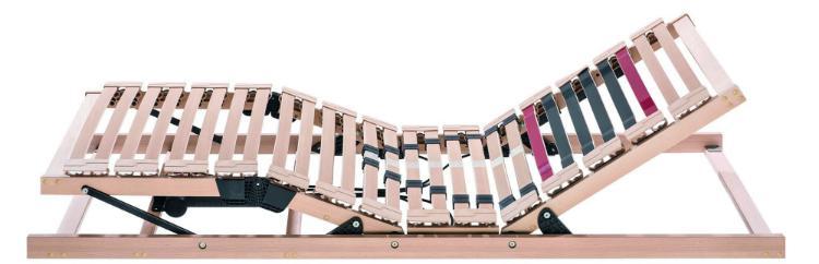 Rummel Lattenrost MY 1300 R - Massive Qualität mit individuell regulierbarer Schulterzone