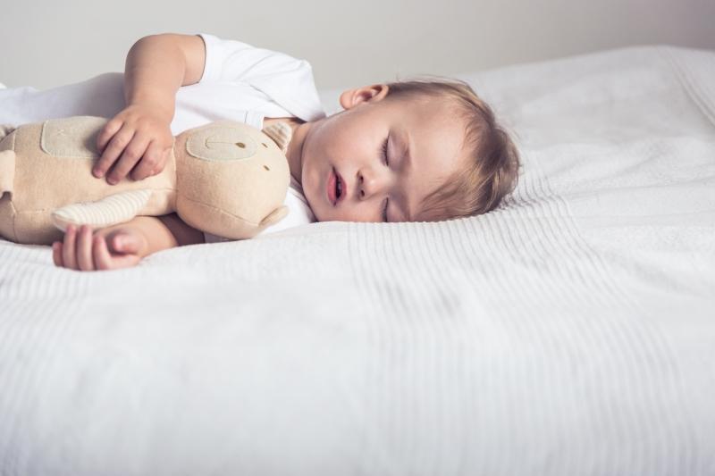 Babys brauchen viel Schlaf