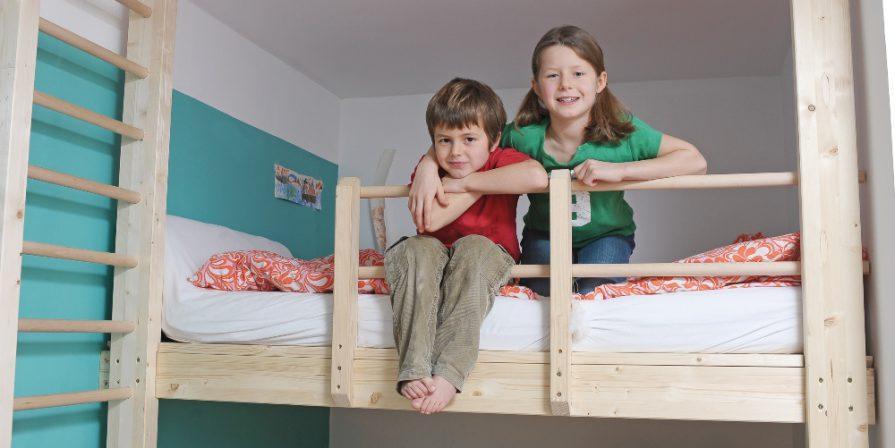 Das Hochbett im Kinderzimmer - Betten-ABC® Magazin