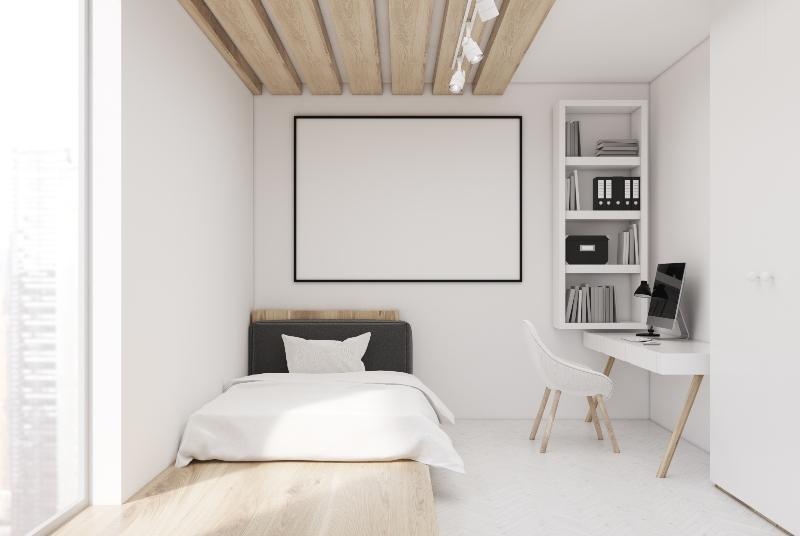 Standort des Bettes im Schlafzimmer