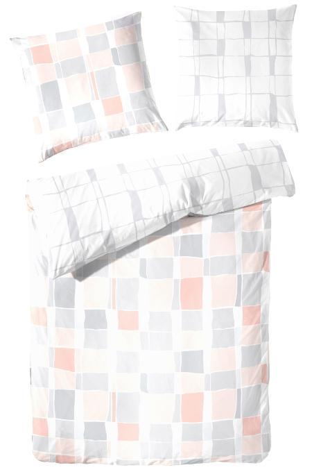 primera-renforce-bettwaesche-2-teilig-modernes-karo-design-atmungsaktiv