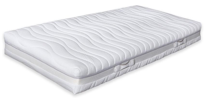 Betten-ABC® OrthoMatra TF 5.0 - Taschenfederkern- Matratze - 7-Zonen-Schnitt mit Silver-Spirit-Bezug