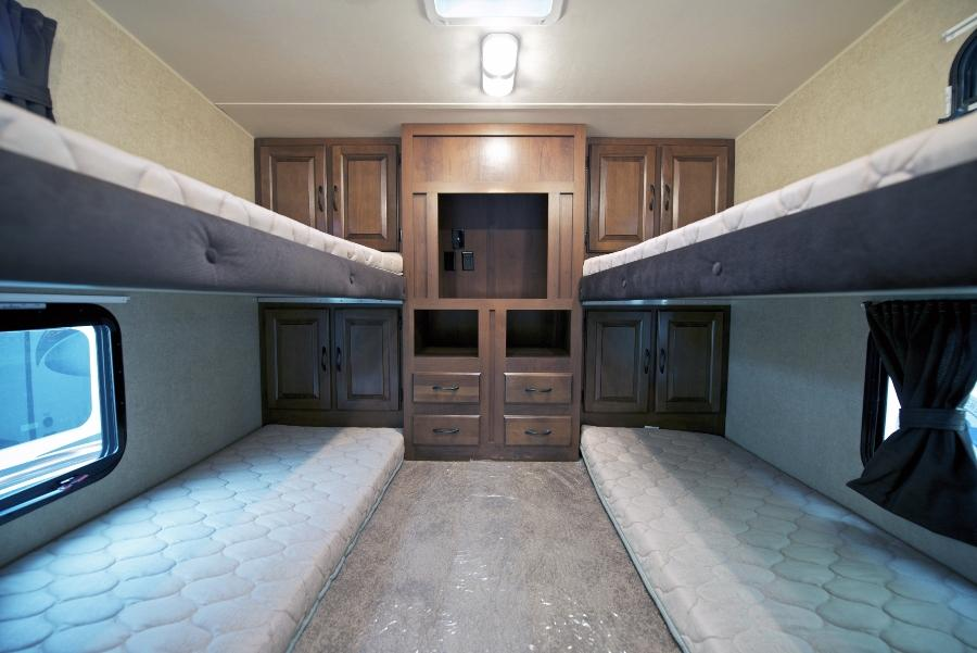 Etagenbetten im Wohnmobil