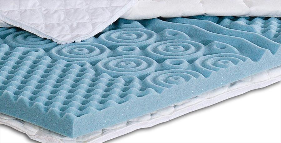fan Medisan Softly Komfort Kern Topper 7 Zonen Matratzenauflage aus Kaltschaum