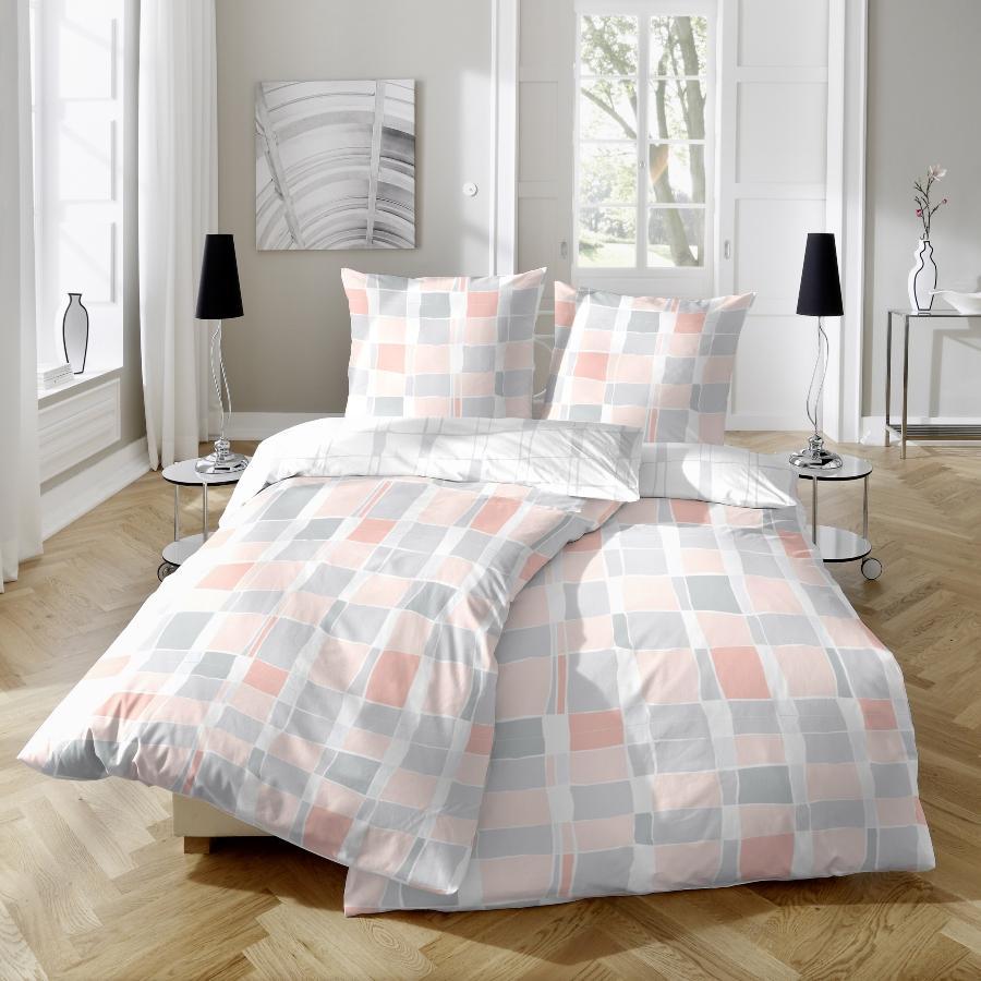 primera-renforce-bettwaesche-2-teilig-modernes-karo-design-atmungsaktiv-schlafzimmer-trends-2020