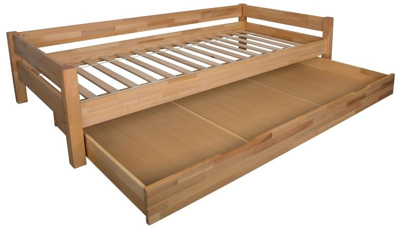 Bubema Duo Bett mit Bettkasten 90x200cm schuhe-im-schlafzimmer-aufbewahren