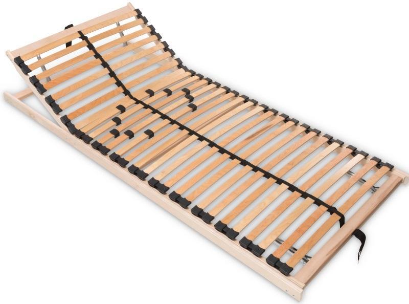 Betten-ABC Max1 K+F, Lattenrost zur Selbstmontage, mit Kopf- und Fußteilverstellung, Holm durchgehen