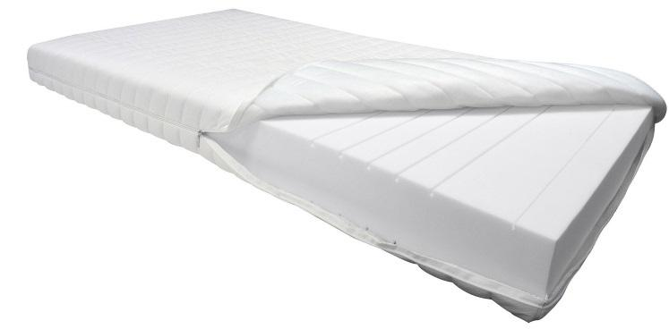 OrthoMatra KSP-1000 Kaltschaummatratze - Das Original - 9 Zonen, 16 cm, Öko- Tex zertifiziert Schlafzimmertemperatur und Luftfeuchte