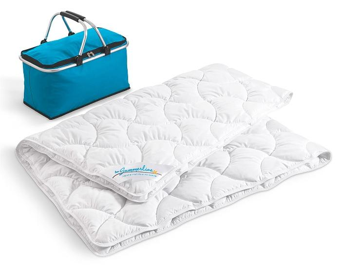 fan Leicht-Steppbett Summerline Top Cool Sommerbettdecke