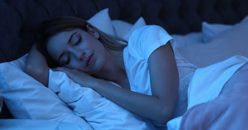 Frau im TIefschlaf