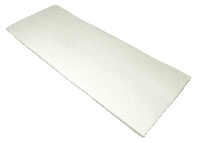 Bezug fuer Viscoauflage 4-6 cm, waschbar mit 3-seitigem Reißverschluss