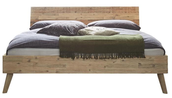 Hasena Bett Factory-Chic Farbe Akazie viele Groessen modernes Design Kopfteil Varus gute-massivholzbetten
