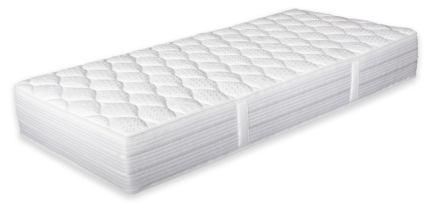 7-Zonen Doppel-Tonnen-Taschenfederkernmatratze von Betten-ABC - Steghöhe von Matratzen und Toppern