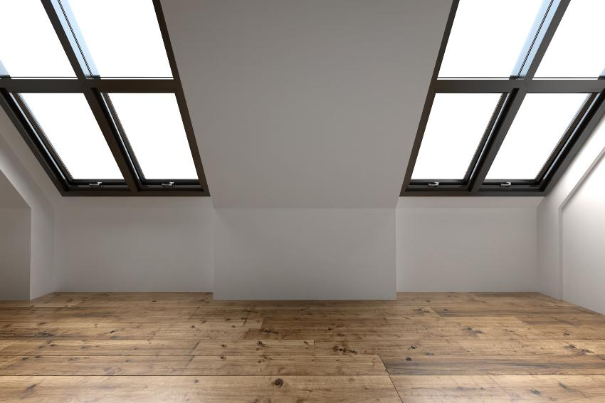 Dachschräge in einem Dachgeschoß - Tipps für den Bettenkauf