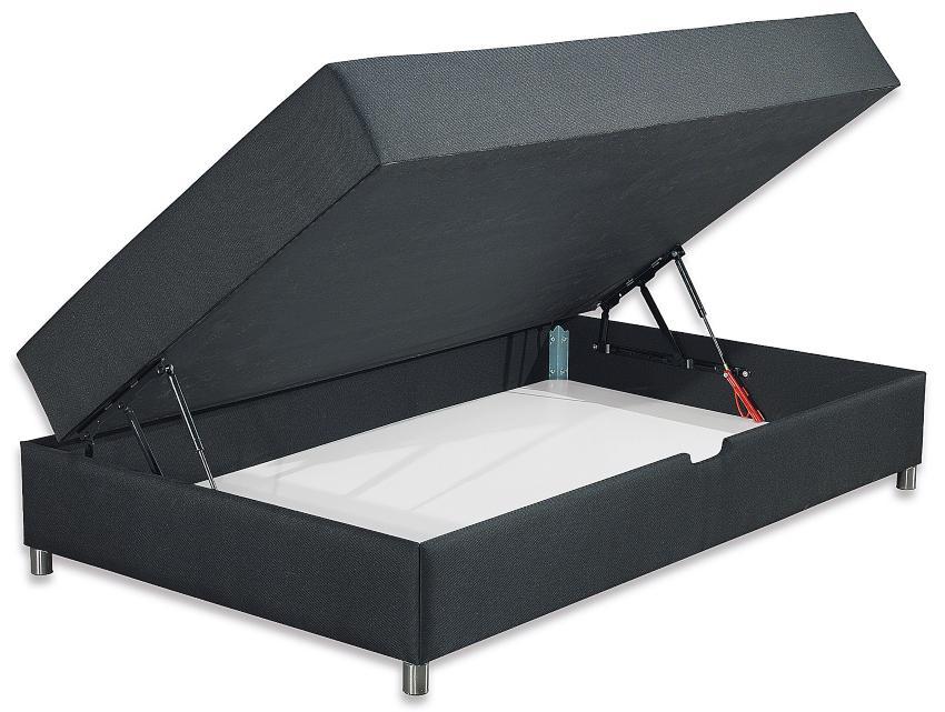 Betten-ABC® Schwarzwald Comfortbox-MINI Bonellfederkernmatratze + Bettkasten