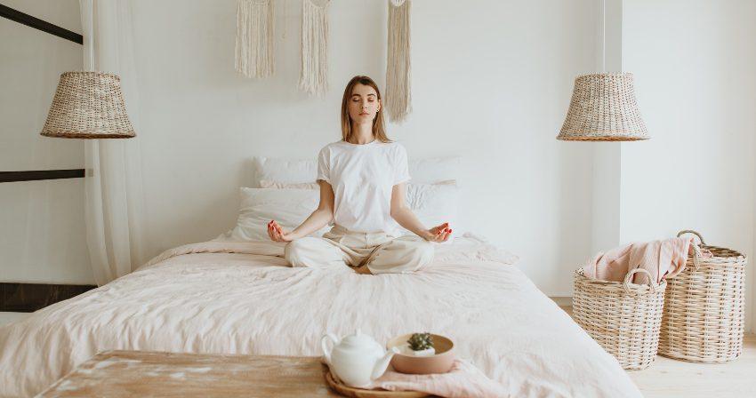 Meditation vor dem Schlafen