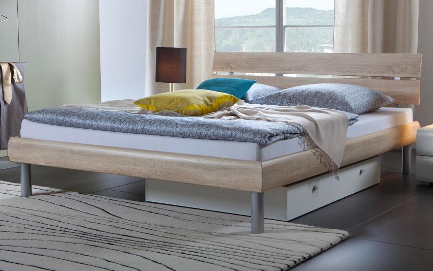 Hasena Soft-Line Bett - hochwertiges Bett zum EInschlafen