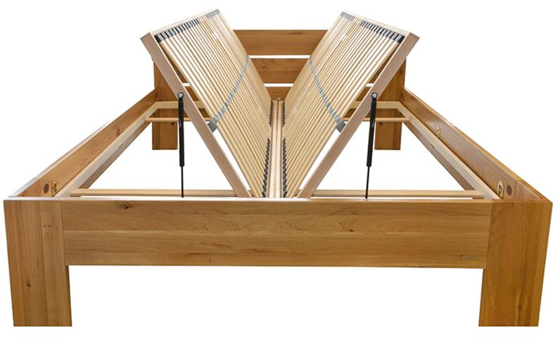 MaDeRa 7-Zonen-Lattenrost für Bettkastenfunktion, 28 Federleisten, Birkenschichtholz Schlafsystem