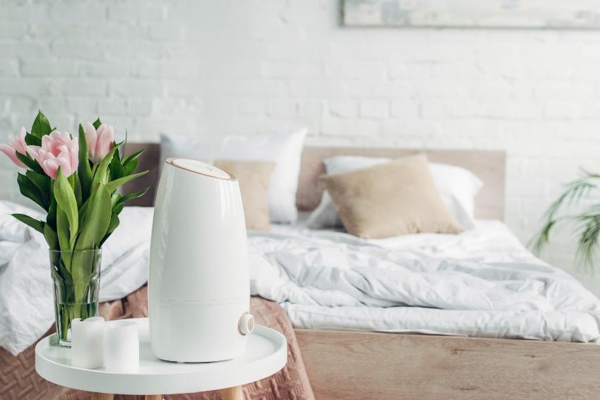 Luftbefeuchter im Schlafzimmer - das ideale Schlafklima