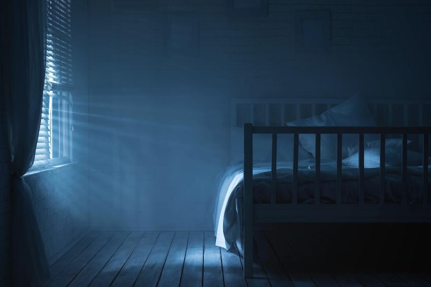 Abgedunkeltes Schlafzimmer - das ideale Schlafklima