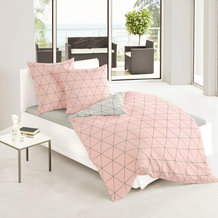 bierbaum-mako-satin-bettwaesche-rosa-100-baumwolle-135x200-cm-und-80x80-cm Nachtschweiß vermeiden