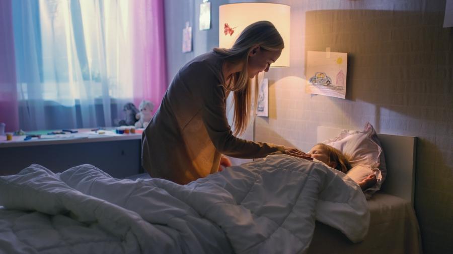 Schlafhygiene beginnt ab dem Grundschulalter Kinderschlaf