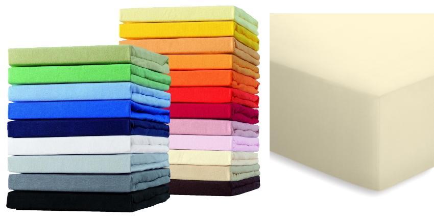 Schlafgut Boxspring Spannbetttuch für Matratzen mit oder ohne Topper