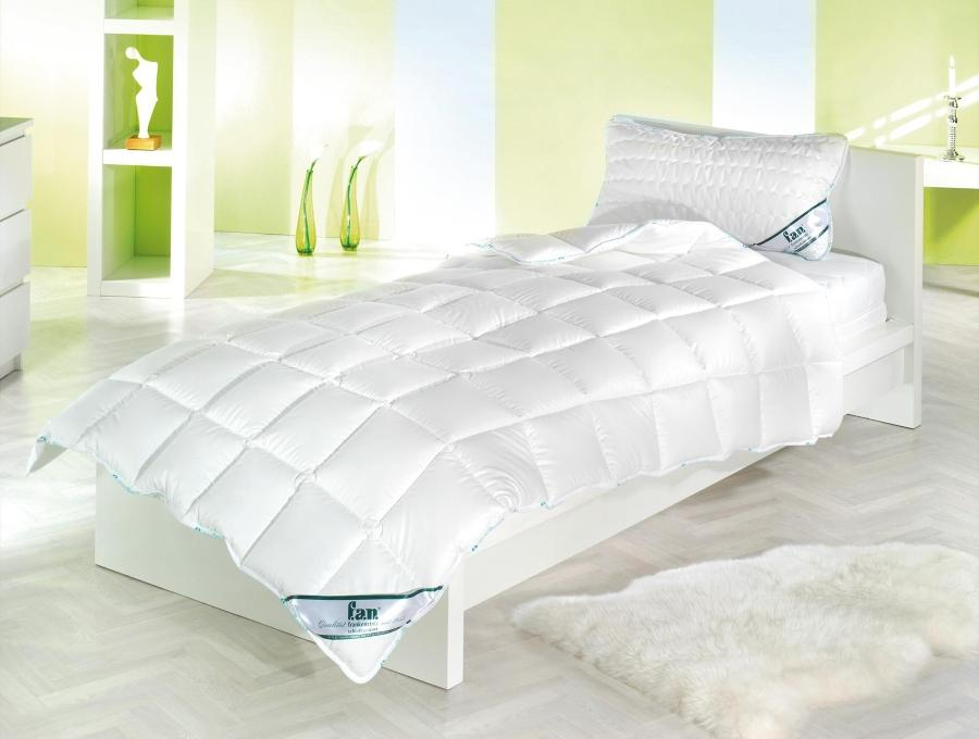 fan Steppbett Medisan 100 Baumwolle kochfest fuer Allergiker geeignet ohne optische Aufhelle Antiallergische Bettwäsche