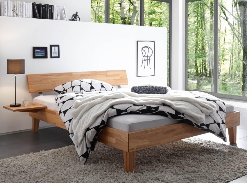 Hasena Bett Wood-Line