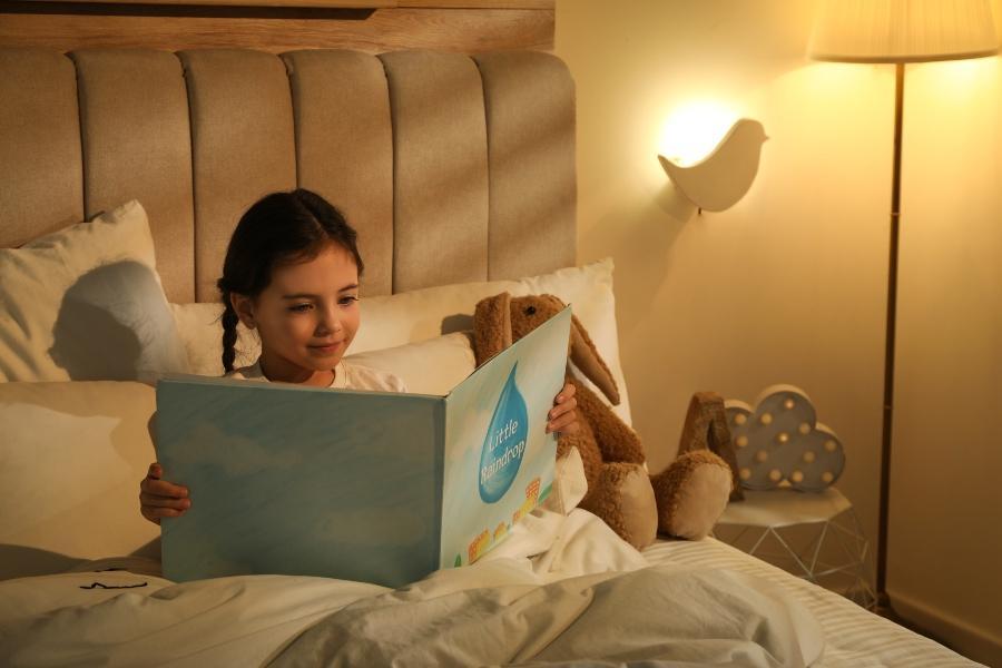 Bettbeleuchtung fuer Kinder