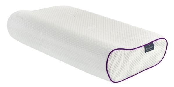 Pillowise Nackenstuetzkissen, Fuellung mit 100 Prozent Memory Schaum, Tencel Bezug, waschbar