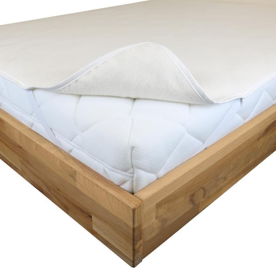 Traumhaft gut schlafen - Molton-Matratzenauflage, glatt, kochfest, 100 Prozent Baumwolle