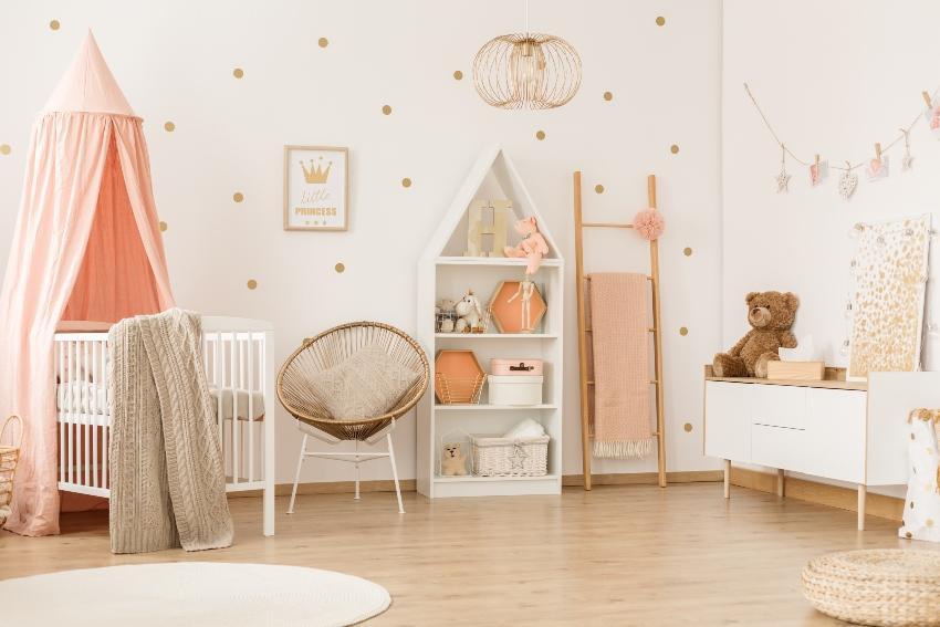 Babyzimmer einrichten mit Babymöbeln