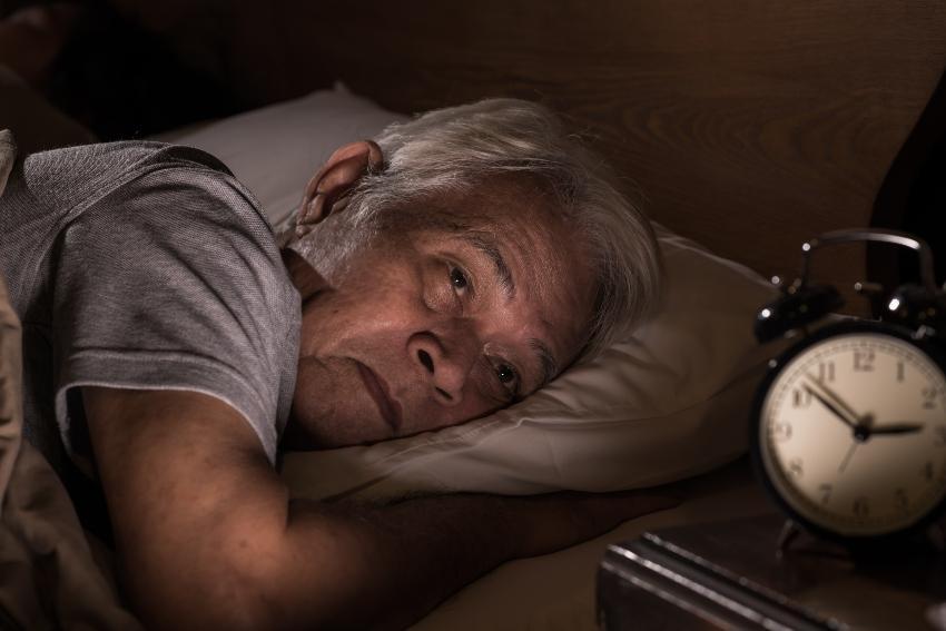 Schlafstörung bei Senioren
