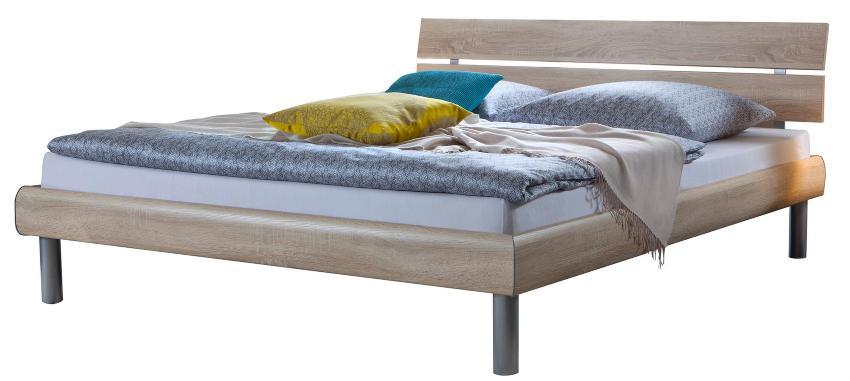Hasena Soft-Line Bett in verschiedenen Farben, Füße Soko 20 cm und Kopfteil Nuo in Bettfarbe Bettenvergleich