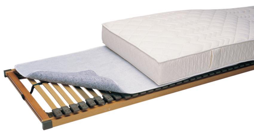 f.a.n. Thermofill-Matratzenschoner als Auflage zwischen Lattenrost und Matratze Einlegetiefe