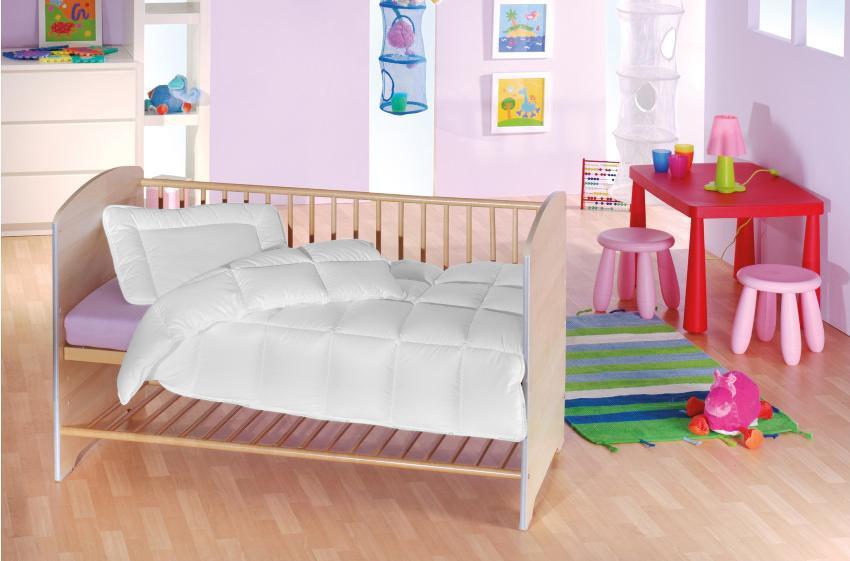 f.a.n. Medisan Kids Bettenset bestehend aus Kinder-Steppbett 100x135 cm und Kissen 40x60 cm Steppbettsets