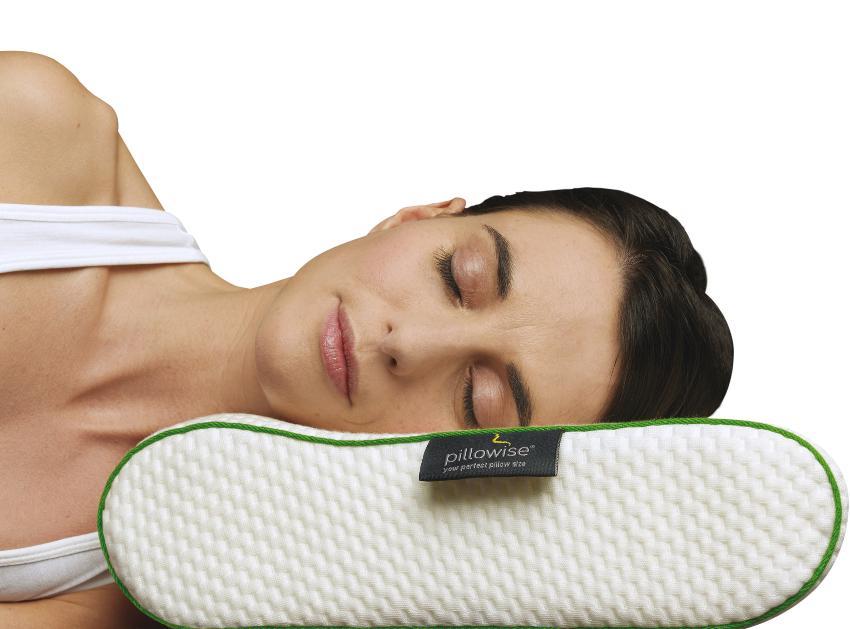 Pillowise Nackenstützkissen, Füllung mit 100% Memory Schaum, Tencel Bezug, waschbar Tencel und Lyocell