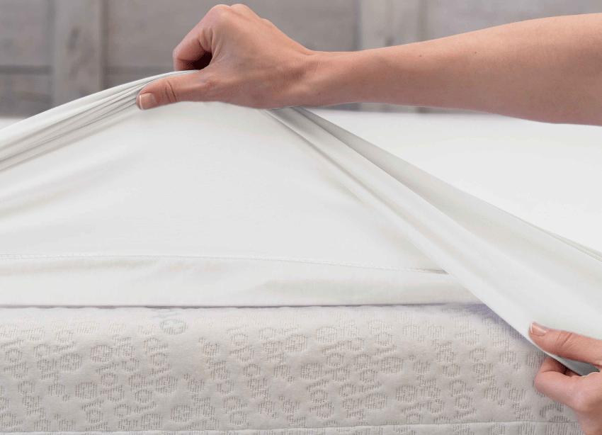Traumhaft gut schlafen Spannbettlaken Wasserundurchlässig für Kinder u. Erwachsene Sommerbettwäsche