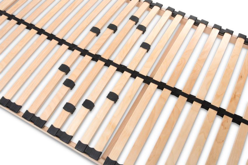 Lattenrost MAX1 NV MZV zur Selbstmontage, mit 28 Leisten, mit durchgehenden Holmen Lattenrost stabil
