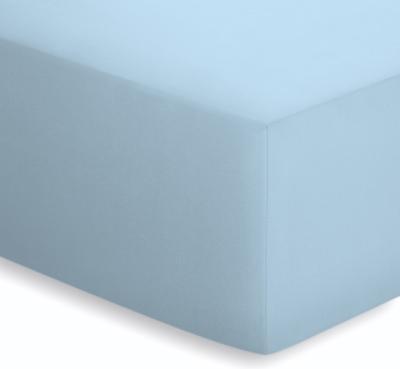 Schlafgut Spannbetttuch für Boxspring Topper aus Jersey-Elasthan für Höhen bis 10 cm
