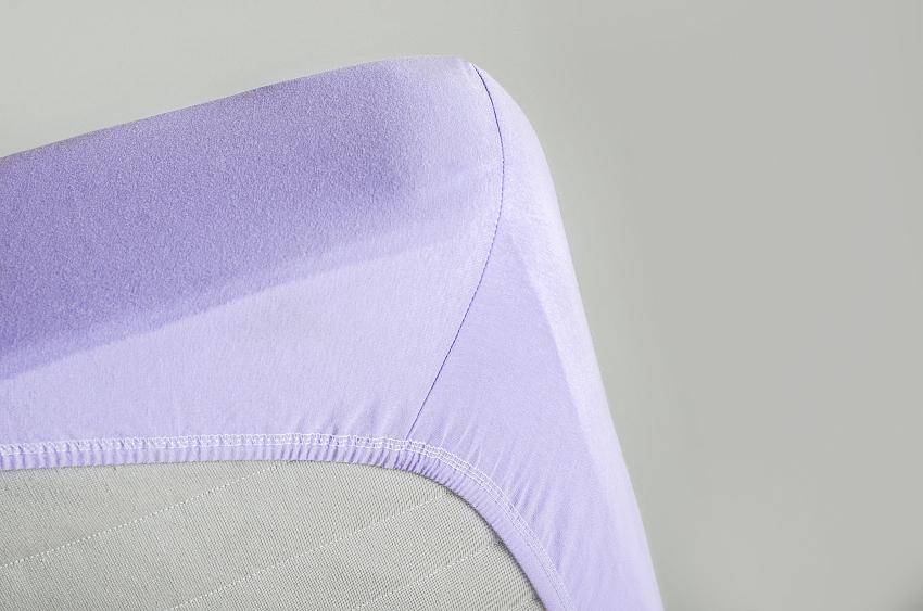 Spannbettlaken, Nahaufnahme einer Matratzenecke