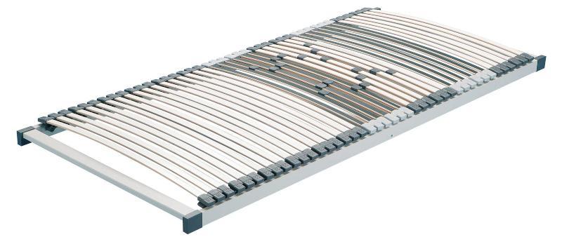 Hn8 Quattroplus Plan Lattenrost mit 42 Leiste Mehrschicht-Federholzleisten aus Buche und Birke