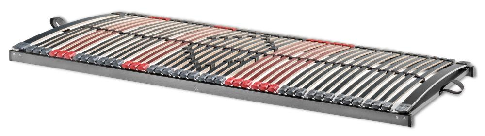 Betten-ABC Max-Premium NV 7-Zonen-Lattenrost mit 44 Leisten und Mittelzonenverstellung