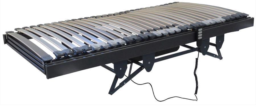 Betten-ABC Lattenrost für Pflegebetten, mit motorischer Kopf- Fußteil und Höhenverstellung - Elektrischer Pflegelattenrost