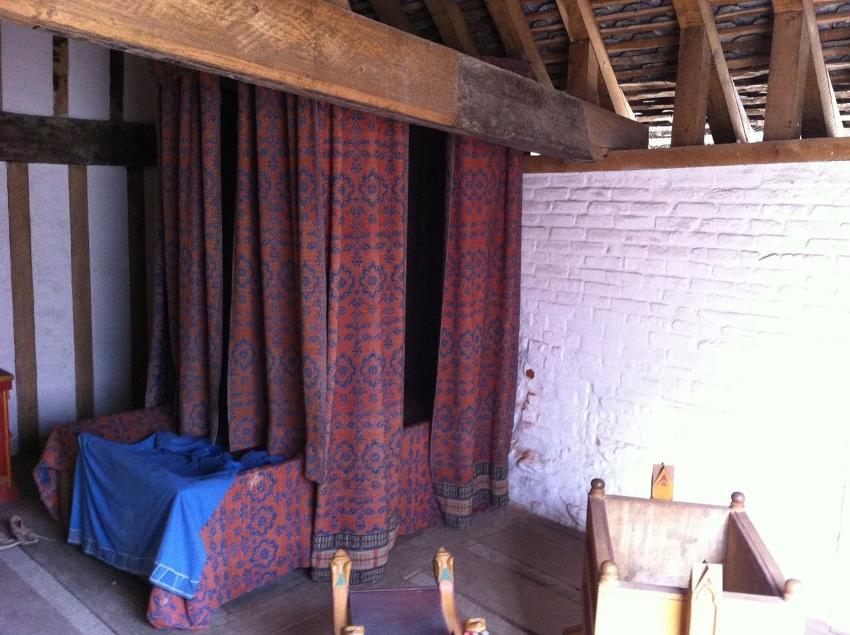 Mittelalterliches Bett - Entwicklung der Schlakultur