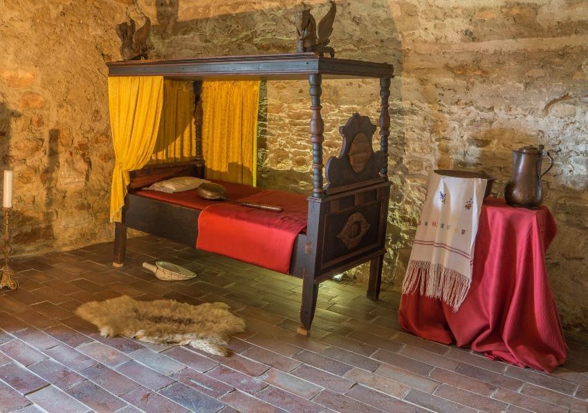 Mittelalterliches Bett - Entwicklung der Schlafkultur